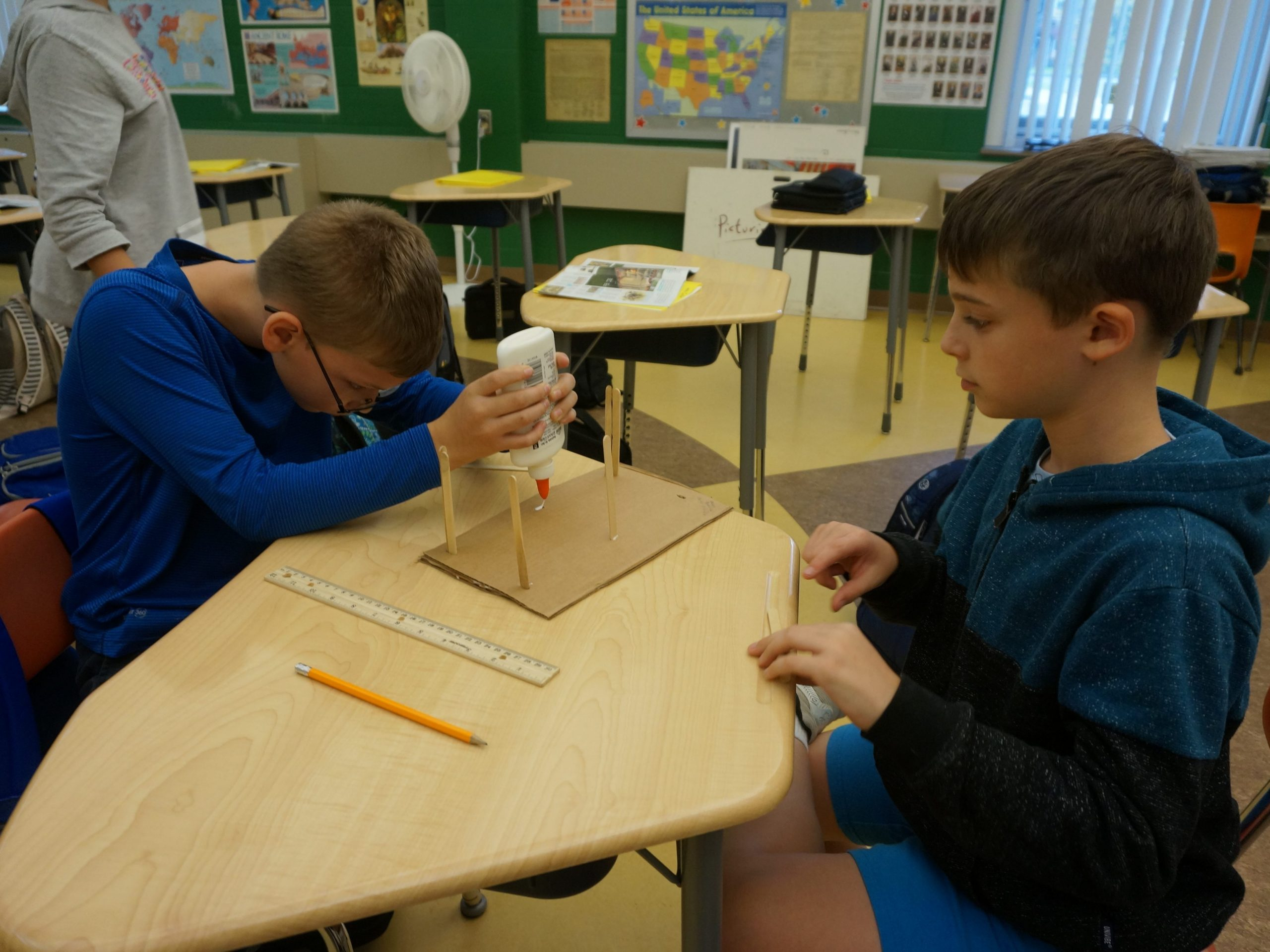 AuSable Forks Elementary School students
