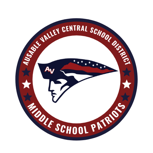 AuSable Valley Middle School Logo